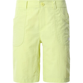 The North Face Horizon Sunnyside Pantalones cortos Mujer, amarillo